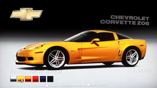 Chevrolet Corvette Z06 de 2006 - GT5 Prologue