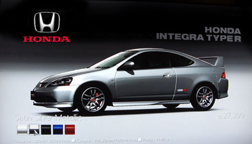 Honda Integra type R (DC5) de 2004 - GT5 Prologue