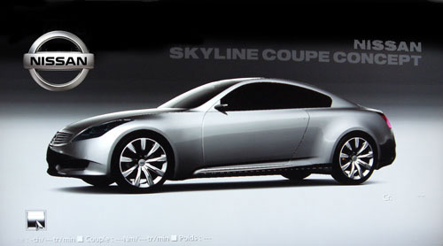 Nissan Skyline Coupe Concept de 2007 - GT5 Prologue