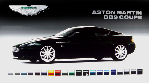 Aston Martin DB9 Coupe de 2006 - GT5 Prologue