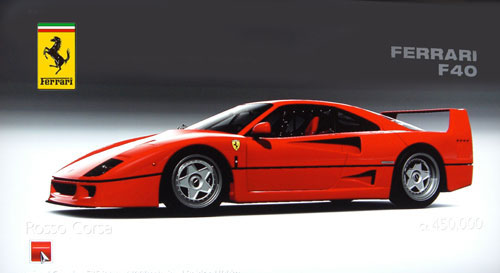 Ferrari F40 de 1992 - GT5 Prologue