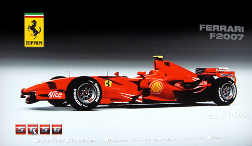 Ferrari F2007 de 2007 - GT5 Prologue
