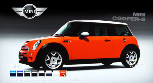 mini cooper s 2006 gran turismo 5 prologue. Black Bedroom Furniture Sets. Home Design Ideas